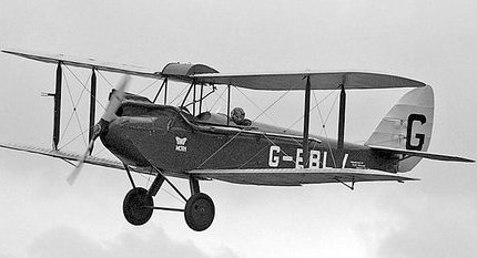 Amy Johnson and Gypsy Moth