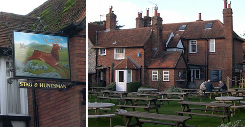 Stag and Huntsman pub