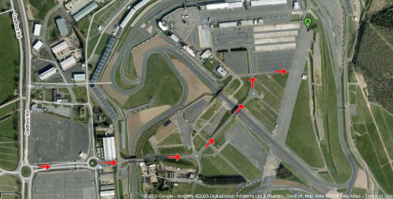 Google view of Silverstone