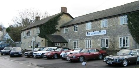 Photo of cars parked outside The Lodge